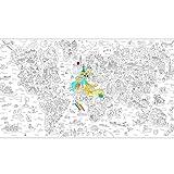 Poster à colorier Keith Haring géant XXL
