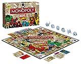 Winning Moves WIN44338 - Monopoly: Marvel Comic Retro Spiel -