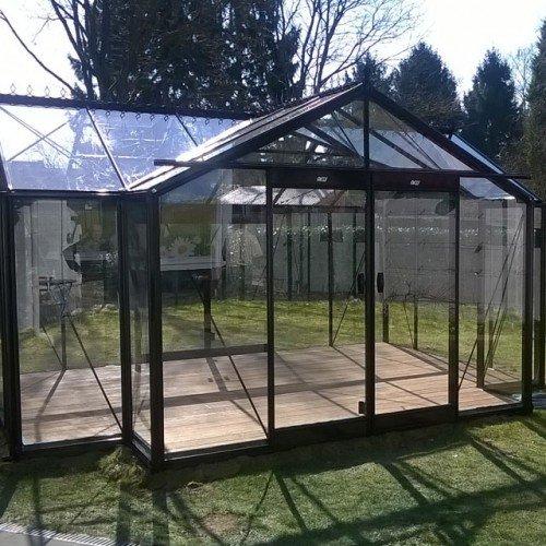 Glas-Gewächshaus Orangerie Helene 15,79 m²