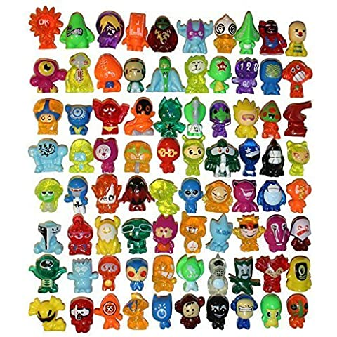 All 80 Gogos Crazy Bones Series 2 Evolution - Complete Set - In Good Used Condition