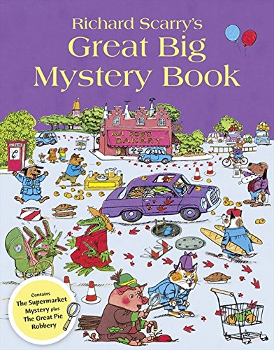 Richard Scarry's Great Big Mystery Book por Richard Scarry