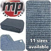 MP Essentials transpirable e impermeable al aire libre suelo campaña alfombra BLUE & GREY Talla:2.5 x 5m