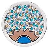 Moneta da donna per gioielli Morella, moneta da 33 mmraggio di sole