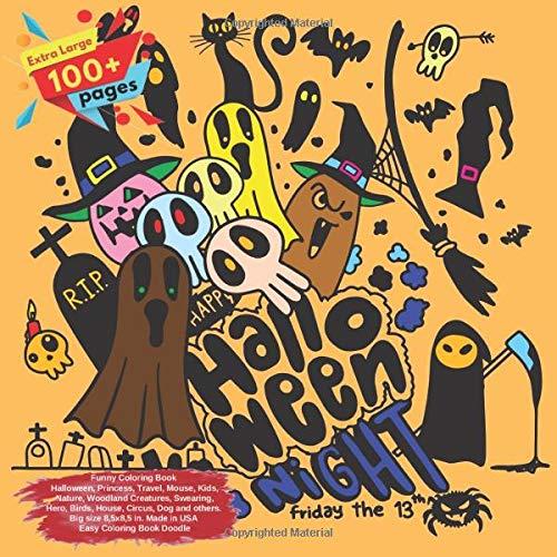 Halloween, Princess, Travel, Mouse, Kids, Nature, Woodland Creatures, Swearing, Hero, Birds, House, Circus, Dog and others. Extra ... Book Halloween and others Doodle, Band 1) ()