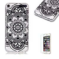 For iTouch 5/6 Case [with Free Screen Protector],Funyye Fashion lovely Lightweight Ultra Slim Anti Scratch Transparent Soft Gel Silicone TPU Bumper Protective Case Cover Shell for iTouch 5/6 - Mandragora