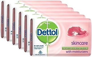 Dettol Skincare Soap - 75g (Pack of 6)