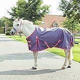 Shetty und Pony Regendecke, Outdoordecke Gr. 75 - 115, Groesse:75, Farbe:pink/flieder