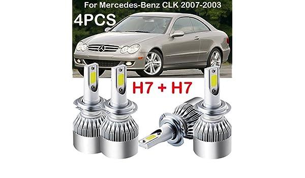 Mercedes E-Class W212 100w Super White Xenon HID Low Dip Beam Headlight Bulbs