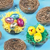Baker Ross Mini Bird Nests for Fluffy Chicks and Easter Decorations