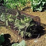 Filet du tunnel de croissance de 3m. Protège les plantes des oiseaux nuisibles.