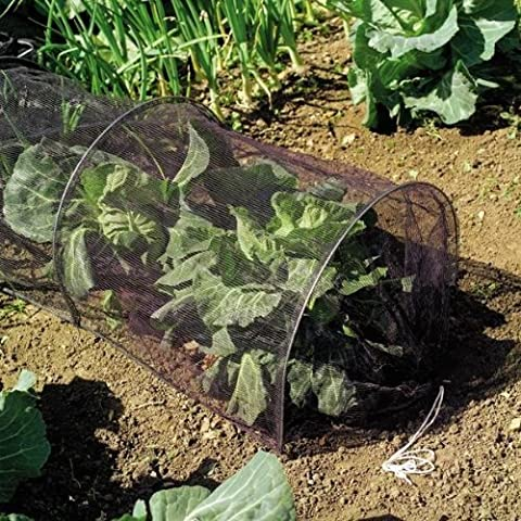 LARGE 3m CLOCHE GROW TUNNEL NETTING. PROTECT PLANTS FROM BIRD