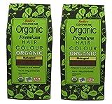 Radico Mahagoni 2er-Pack (2 x 100g) Colour Me Organic Pflanzenhaarfarbe (bio, vegan, Naturkosmetik) mahagonix2