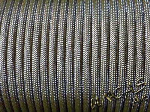 original Paracord 550 Typ 3 - 30 m Seil Survival Band Fallschirmschnur - Farbe TAN 499 (Nylon-armband Tan)