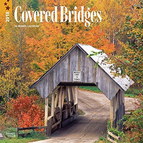 Covered Bridges 2018 Wall Calendar