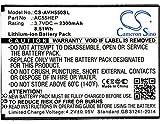 CS-AVH550SL Batterie 2300mAh [ARCHOS] A55 Helium, Helium + remplace AC55HEP, BSF20