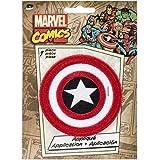 "Marvel Comics Patch-Retro Captain America Shield 3"" Round"