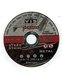 10 Pieza Disco de Corte para Acero 125 x 1,6 mm T41 Platinum a46tbf