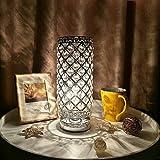 Lampada da Tavolo in Cristallo,Tomshine Lampada da Tavolo Decorativa Lampada da Tavolo Decorativa/Lampada da Notte/Lampade da