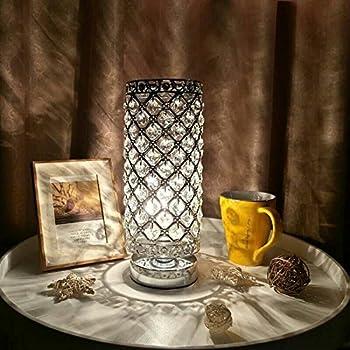 Lampe De Cristal Mode Jour Abat ChevetCristal tomshine 1TKc3lJF