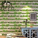 HONGYUANZHANG Tapete 3D Nachahmung Holz Board Restaurant Brot Milch Tee Hot Pot Shop Retro Tapeten Für Wände,200cm (H) X 280cm (W)