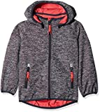 NAME IT Baby-Mädchen Jacke NMFBETA Knit Softshell Jacket FO, Blau Flint Stone, 98