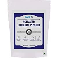 Healthvit Activated Charcoal Powder - 100gm (Pack of 2)
