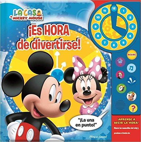 MICKEY Y MINNIE MOUSE CLOCK: ES HORA DE DIVERTIRSE (CLOCK MD)