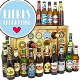 Liebeserklärung ❤️ Bier Adventskalender mit Bieren aus aller Welt INKL gratis Bierbuch ❤️