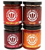 Hot Chilli Jams 3 Pack - Mild Chilli Jam,...