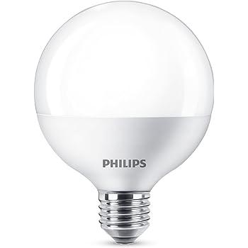 Philips 8718696743010 Bombilla LED Globo, luz Blanca fría E27, 13.5 W