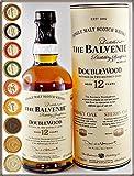 Balvenie Double Wood 12 Jahre Single Malt Whisky mit 9 Edel Schokoladen in 9 Variationen von DreiMeister, kostenloser Versand