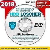 Festplatten Löscher & Formatierer, Datenvernichter, Sichere Datenlöschung !Alle Speichermedien! CD/DVD