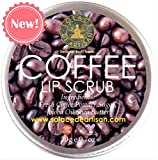 #2: SolaceDeArtisan COFFEE LIP SCRUB (Super Value Pack- 20g)- Coffee Powder & Jojoba Oil- Brightening & Healing- Premium Handcrafted from 100% Natural Ingredients (Biggest pack in Market- FOOD SAFE, Paraben free, Sulphate free, Preservative free)