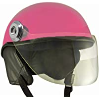 Lively Unisex Scooty helmets for safety Comfort and ease (Small, Pink)