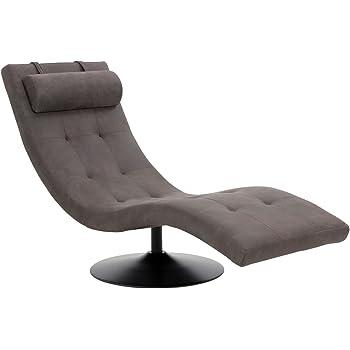 Invicta Interior Extravagante Design Liege RELAXO grau mit Steppung ...