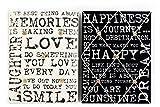 Vintage-Stil, Aufschrift Memo Board, Weihnachten, Geburtstag, Geschenk für jeden Anlass