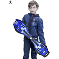 Toyify Wave Board, Skate Board 31 x 8 Inch with Carry Bag LED Flash Colourful Lights on Wheels (Assorted Color) Suitable…