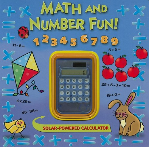Math and Number Fun! [With Solar-Powered Calculator]