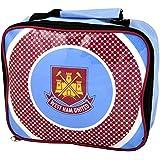 West Ham United FC Childrens/Kids Official Football Bullseye Lunch Bag