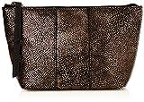 Liebeskind Berlin Damen Mainew7 Zipper Taschenorganizer, Gold (Bronze), 12x7x23 cm