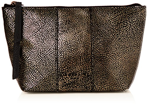 Liebeskind Berlin Damen Mainew7 Zipper Taschenorganizer, Gold (Bronze), 12x7x23 cm (Geldbörse Bronze Damen)