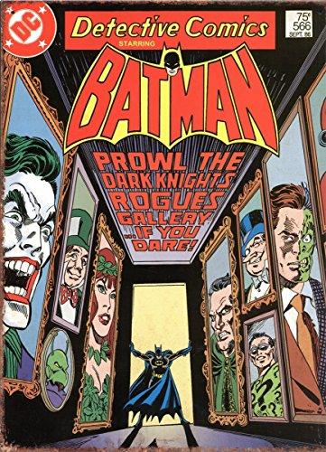 Batman   Corridor  Targa Acciaio