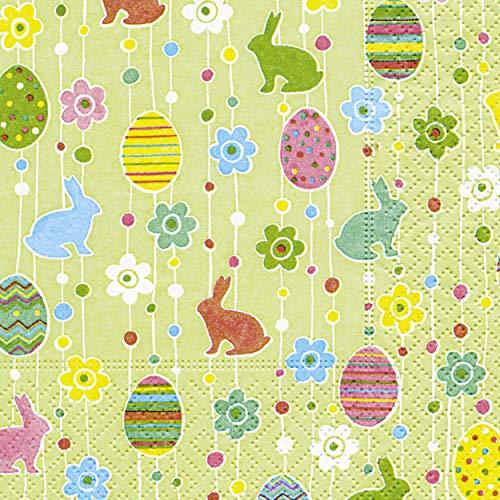 20 tovaglioli Coniglietto pasquale uova di Pasqua Pasqua Happy Easter
