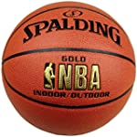 V-Blue PU leather SPALDING basketball...