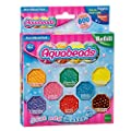 Aquabeads Multicoloured Solid Bead Pack and Jewel Bead Pack (multi colour) Bundle