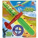 Drachenspiel Turboprop 48x21cm Flugspiel Drache Flugzeug Flieger Propeller