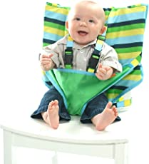 My Little Seat Travel High Chair- Seaside Stripe