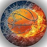 Fondant Tortenaufleger Tortenbild Geburtstag Basketball T23