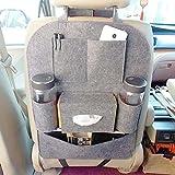 #5: ShopAIS Car Backseat Storage Bag Functional Organizer 6 Pocket - Assorted Colour