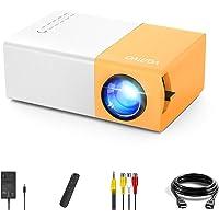 Mini videoprojecteur Vamvo YG300 Pro LED vidéoprojecteur, Portable Movie Retroprojecteur Soutenir 1080p, Cadeau Les…